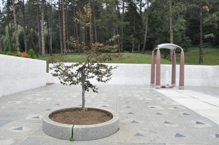 tuzla: Monument Tuzla Stock Photo