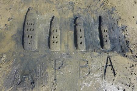 sand mold: Rab Beach Play Sand