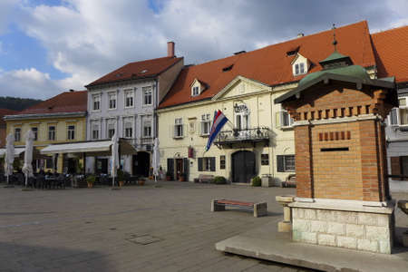 municipality: Samobor well Square Municipality