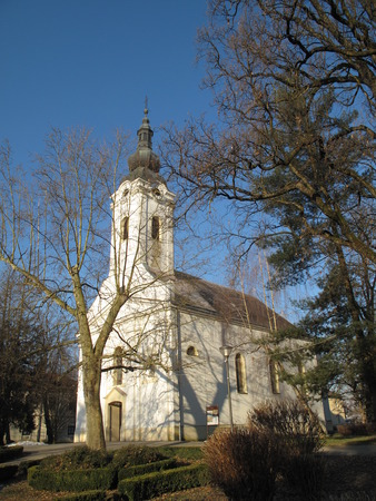 paulus: Church Saint Peter and Paulus in Ivani Grad Zagreb Croatia