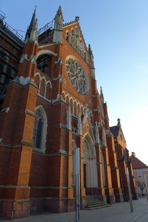 paulus: Cathedral in Osijek Slavonia Slavonija Croatia Saint Peter and Paulus