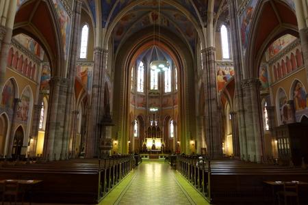 paulus: Cathedral Saint Peter and Paulus in Dark Osijek Croatia Sveti Petar i Pavle Hrvatska