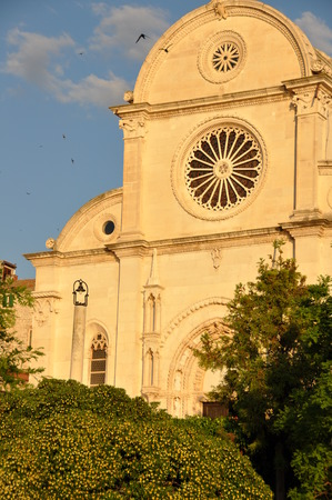 dalmatia: Cathedral Saint Jacob Jacov in Sibenik ibenik Sibenico Dalmatia Croatia