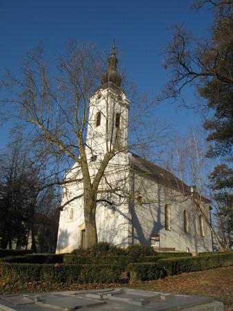 grad: Saint Peter Sveti Petar Church in Ivani Grad Croatia
