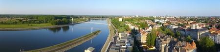 drava: Osijek Drava Panorama Croatia