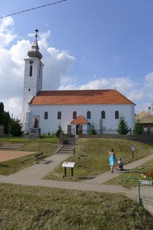 lug: Church in Lug Baranja Slavonia Slavonija Croatia