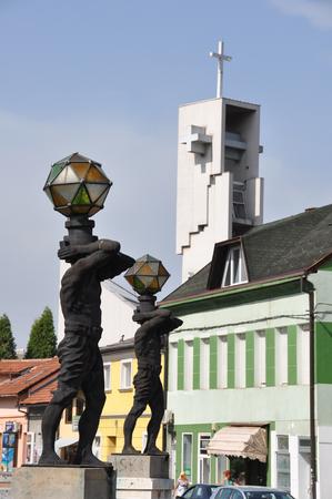 soli: Bosna Bosnia Tuzla Soli Church Monument
