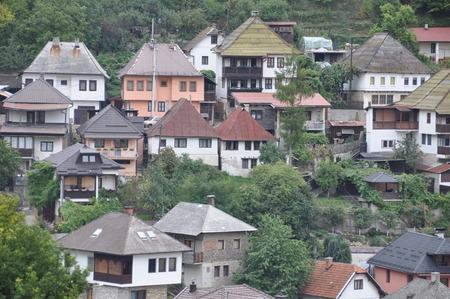 bosnia and hercegovina: Travnik Bosnia Bosna Hercegovina Hercegowina House Mahala Roof Etno