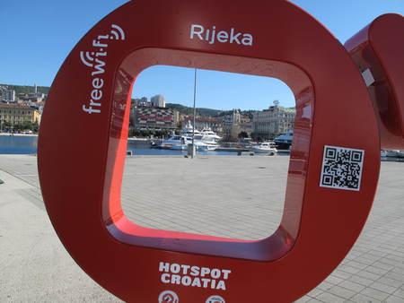 hotspot: Croatia Hrvatska Rijeka Hotspot WiFi Zone Sea Adria Primorje