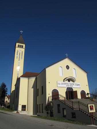 francis: Church Saint Francis Assisi in Lipik Slavonia Slavonija Croatia Hrvatska