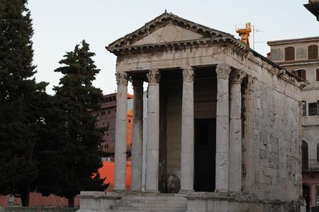 August Augustus Hram Temple Pula Pola Istra Istria Croatia Hrvatska