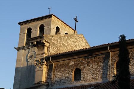 Pula Pola Church Tower Bell Cross Bell Croatia Hrvatska