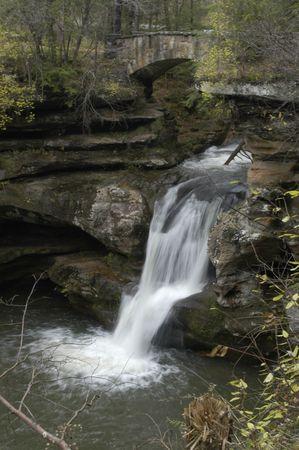 Upper Falls Hocking Hills Ohio