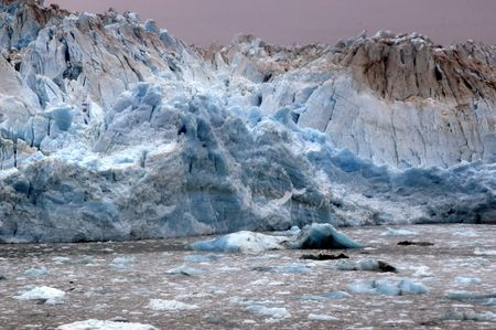 icey: Falling Ice on Glacier
