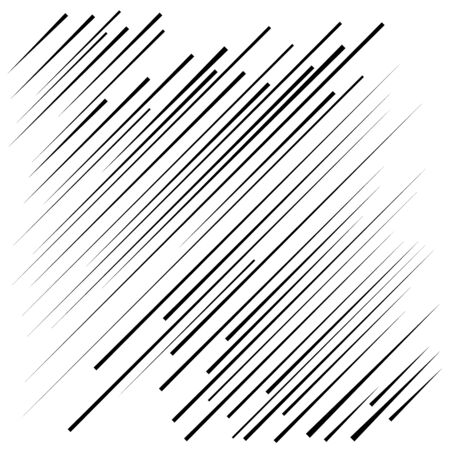 Black speed oblique lines in arrow form. Geometric art. Design element for prints, web, template, posters, pattern and abstract background