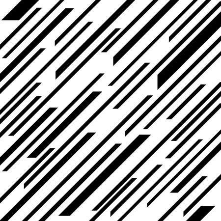 Abstract black lines pattern. Monochrome background. Geometric art. Design element for web pages, prints, template and textile pattern