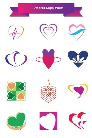 This is a set of logo   design elements, suitable for several projects  Full editable Stock Vector - 13952462