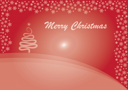This�s a simple vector merry christmas background suitable for several projects  It�s full editable and resizable