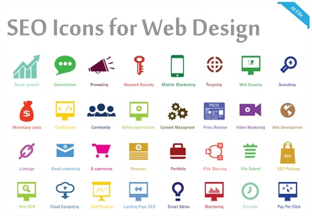 a creative collection of 32 icons appropriate for any Search engine optimization and web Marketing services  You can use this set  for several purposes like  websites, print templates, presentation templates, illustrations Vector