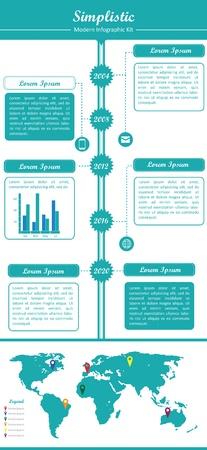 Dit is een coole, creatieve en zeer hoge kwaliteit pakje infographic elementen voor web design projecten. Dit pakket is geschikt voor meerdere doeleinden, zoals websites, illustraties, print templates en de presentatie templates. Stock Illustratie