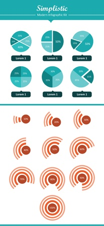 This is a cool, creative and very high quality pack of infographic elements for web design projects. This pack is appropriate for several purposes like websites, illustrations, print templates and presentation templates.