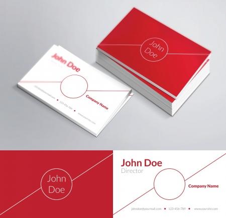 Dit is een modern, schoon en elegant 2 opgeruimd adreskaartje. Perfect voor elk type bedrijf. Uitstekend geschikt voor professioneel en persoonlijk gebruik. Het is gemakkelijk om de kleuren en de tekst veranderen. Drukklaar, CMYK, 300 DPI.