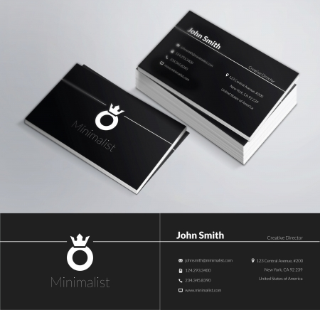 This is a modern, clean and elegant 2 sided business card. Perfect for any type of business. Excellent for professional and personal usage. It is easy to change the colors and the text. Print ready, CMYK, 300 DPI. Vettoriali