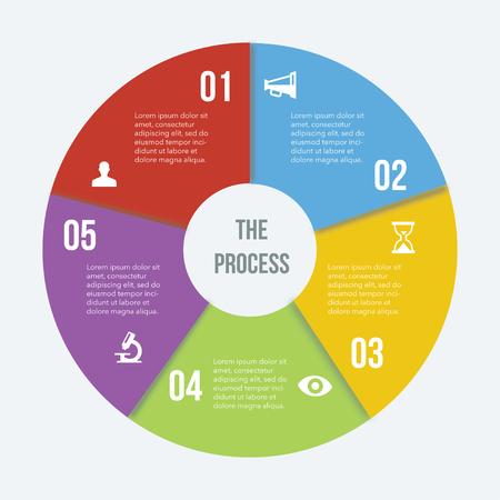 Flat Infographics Elements 04