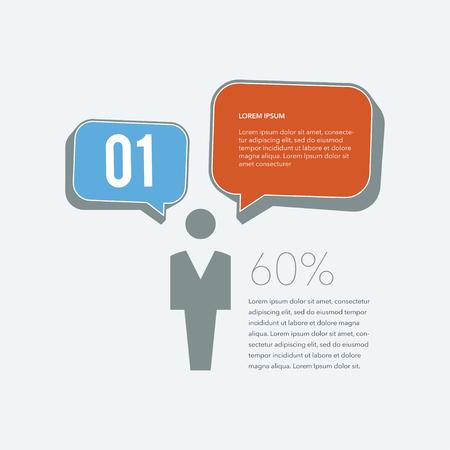 Flat Infographics Elements 06
