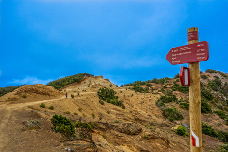 vallehermoso: Way to Vallehermoso beach in La Gomera island