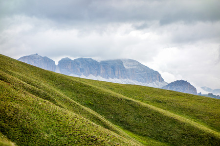 sella: Sella group massif in the Dolomites mountains of northern Italy