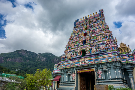 hindu temple: A hindu temple in Victoria capital city of Seychelles