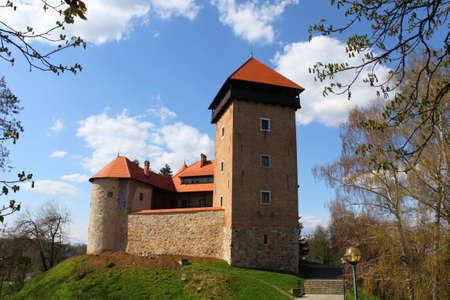 Old castle Dubovac in Karlovac, Croatia, Europe