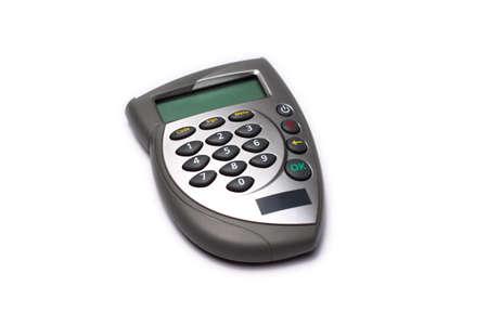 Bank card reader, internet banking authorization device photo