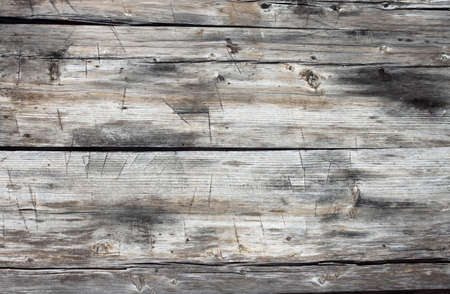 Grungy old piece of wood used as background