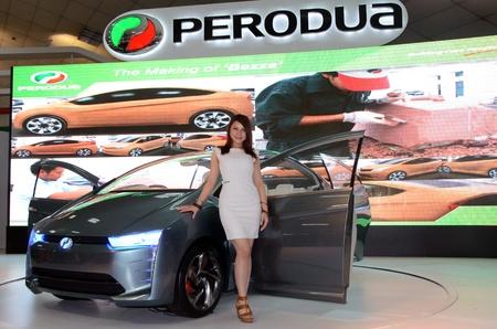 KUALA LUMPUR - DEC 12: Perodua New concept car