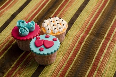 the vaus type of cupcakes Stock Photo - 11986963