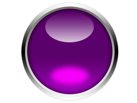 glossy purple button graphic