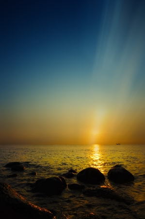 sunrise seascape Stock Photo - 14718240