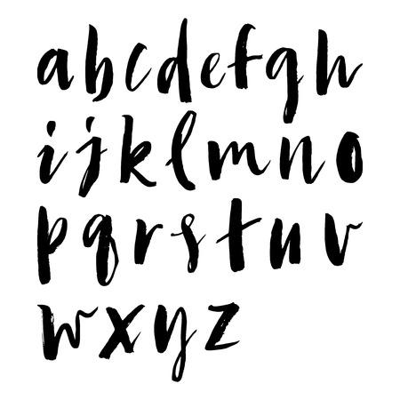 abecedario: Cartas incons�tiles del modelo de embalaje o tejido