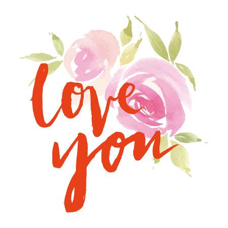 love card: Flores de tarjetas de felicitaci�n