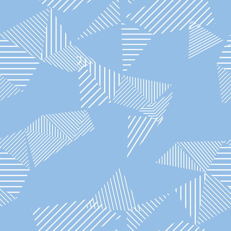 latticed: Seamless pattern. Lines. A triangle.