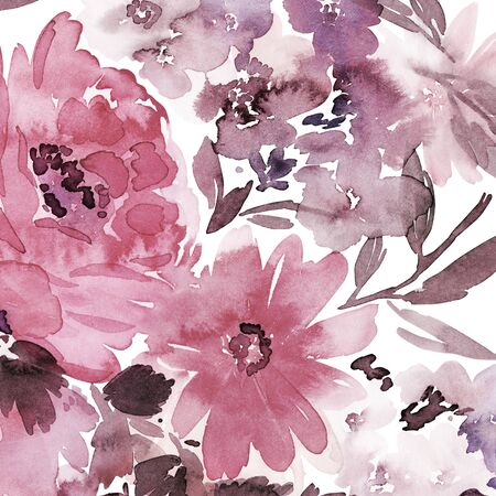 Floral background for cards, invitations. Summer abstract flowers. Standard-Bild - 130030597
