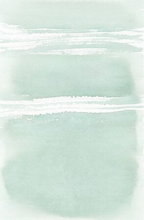 Gentle pastel blue-green watercolor background for greeting cards.