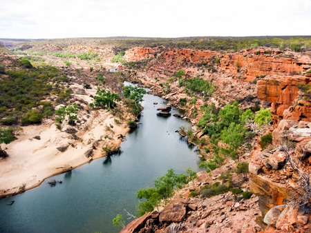 Kalbarri National Park is part of Australias Coral Coast, Western Australia.