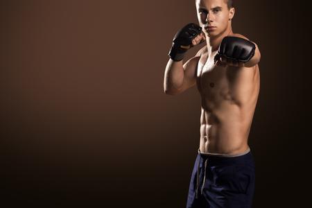 artes marciales mixtas: Mixed Martial Arts Fighter