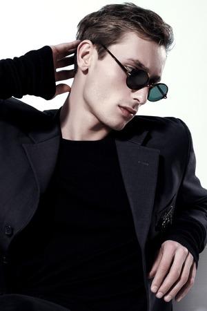 Portrait Of A Handsome Fashion Man
