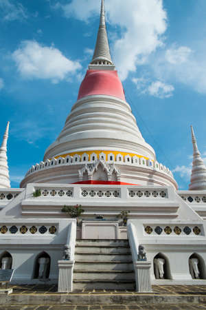 Temple and Pagada in Thailand photo