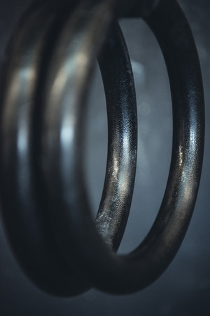 detailed shot: Detailed shot of gymnastic rings used in crossfit.