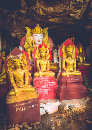 formally: One of the many Buddhas you will find when you travel to the beautiful country of Myanmar, formally Burma.